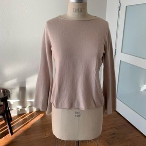 Tan sweater by Chelsea & Violet